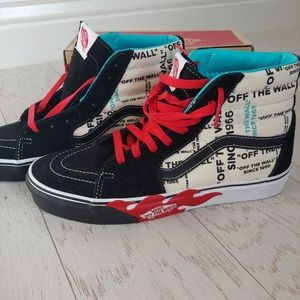 VANS Sk8-hi Off the Wall Edition skate shoes